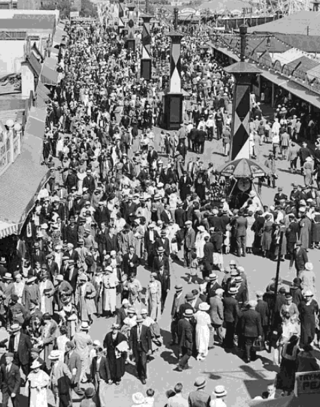 CNE Midway 1920 City of Toronto
